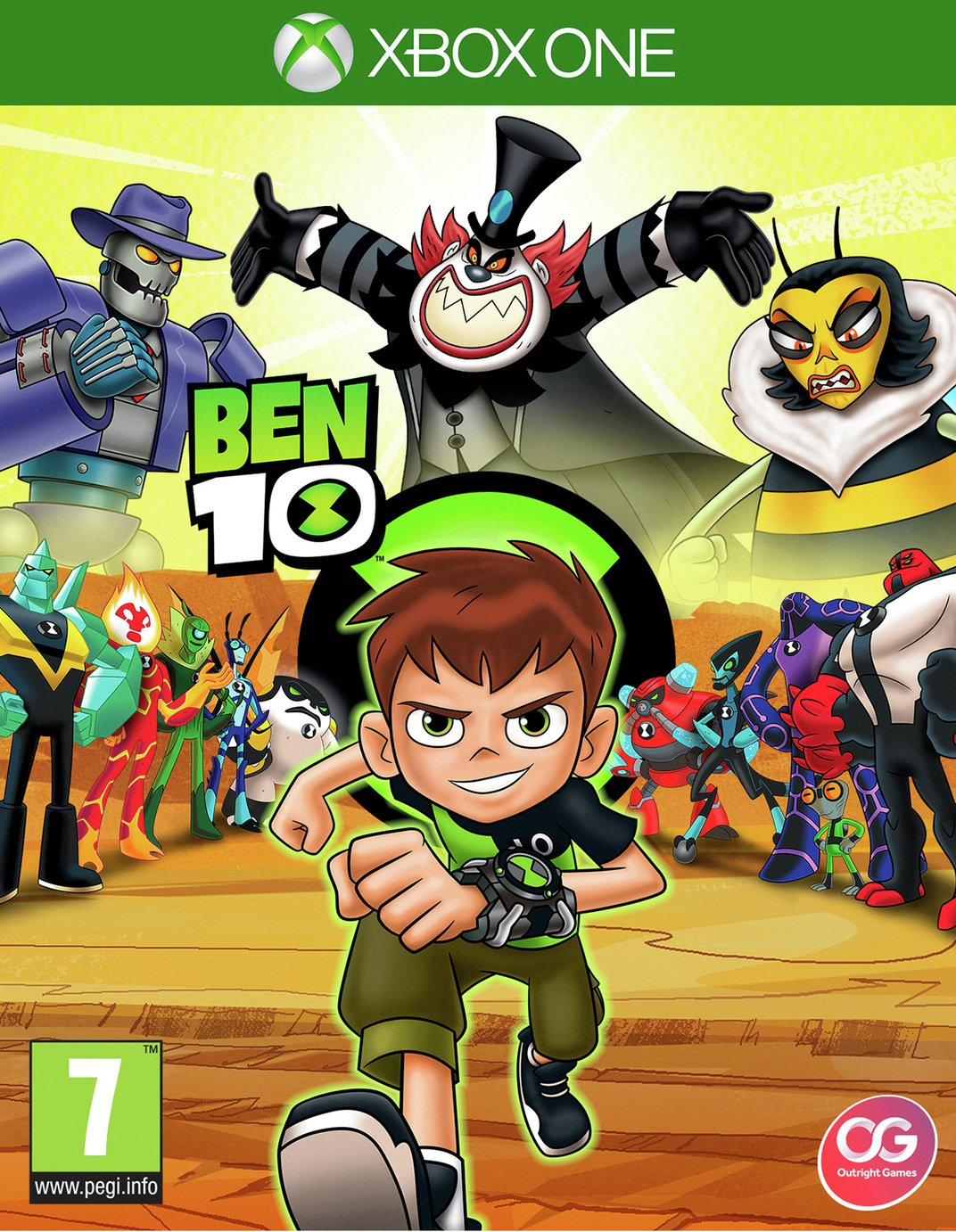 Image of Ben 10 Xbox One Game