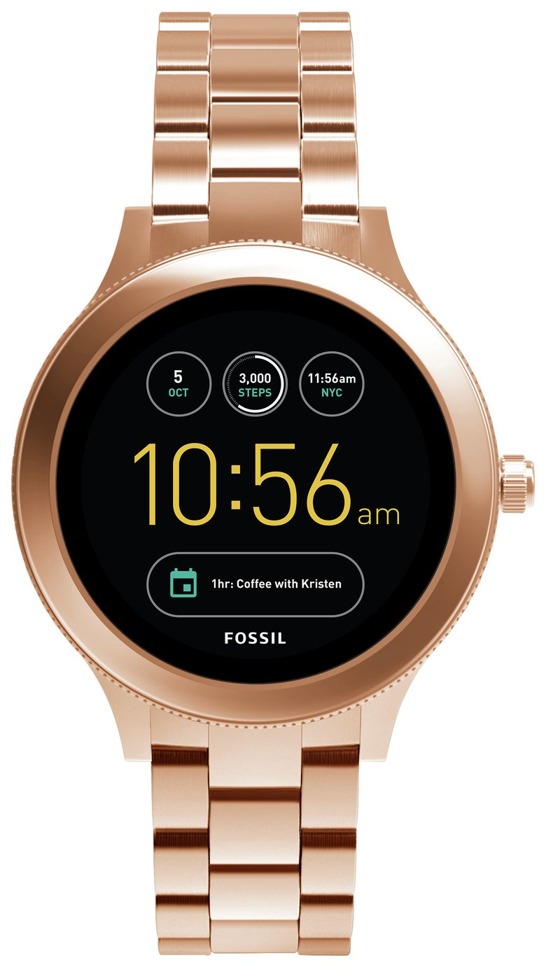 Image of Fossil Q Ladies Gen3 Smart Watch - Rose Gold Colour