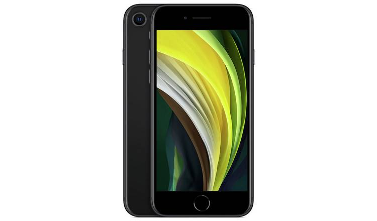 SIM Free iPhone SE 256GB Mobile Phone - Black