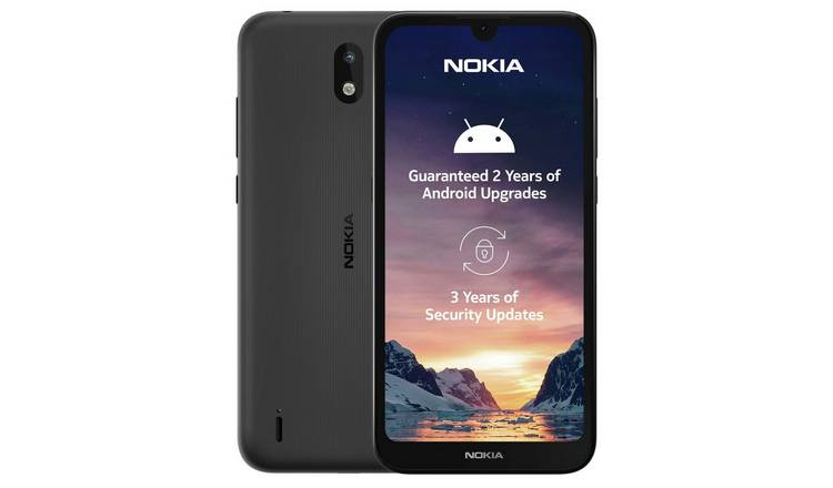 SIM Free Nokia 1.3 16GB Mobile Phone - Charcoal