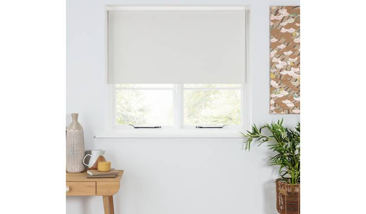 Argos Home Blackout Insulating Roller Blind - 2ft - Stone