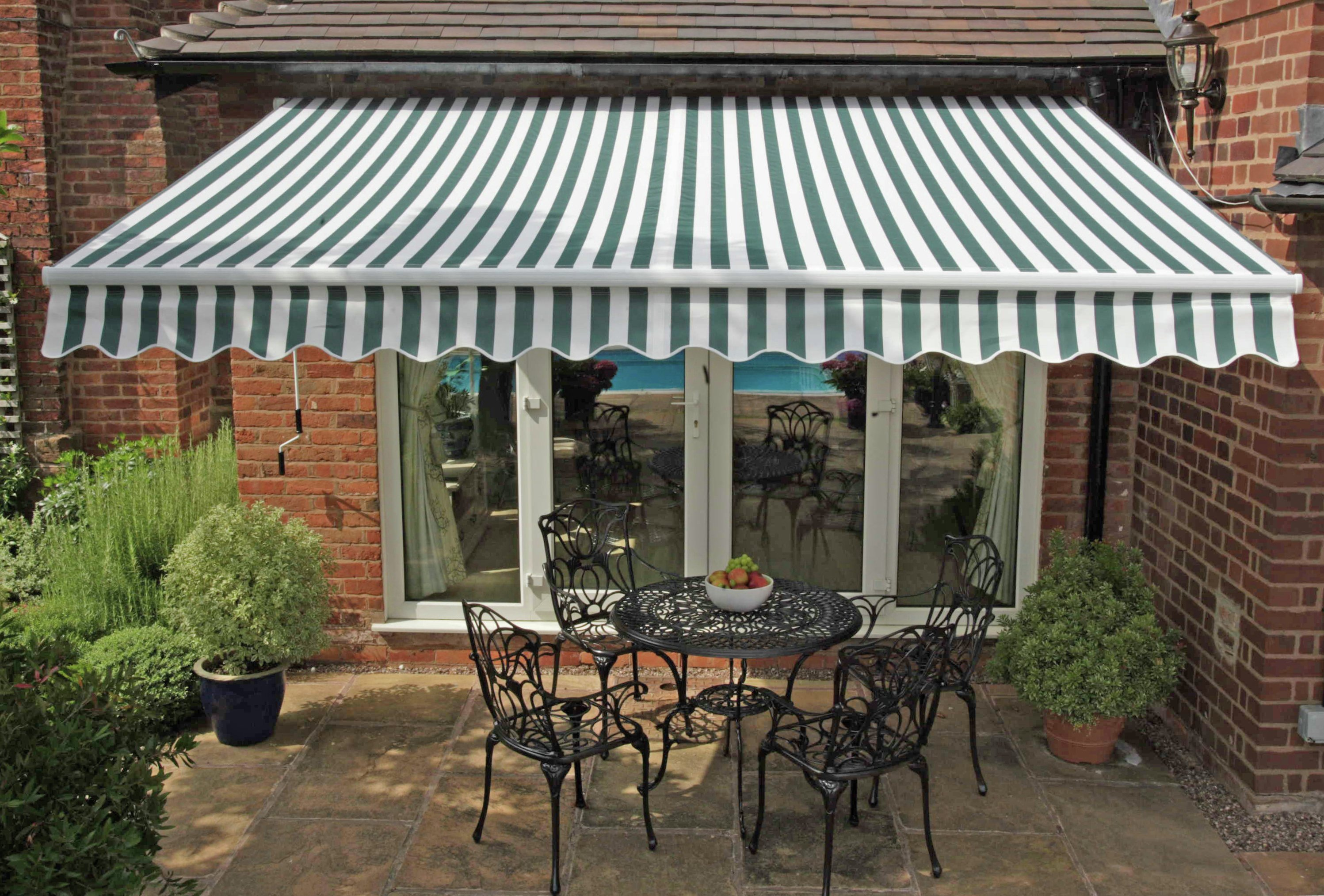 Buy Greenhurst Henley Garden Awning 2 5m Gazebos Marquees And