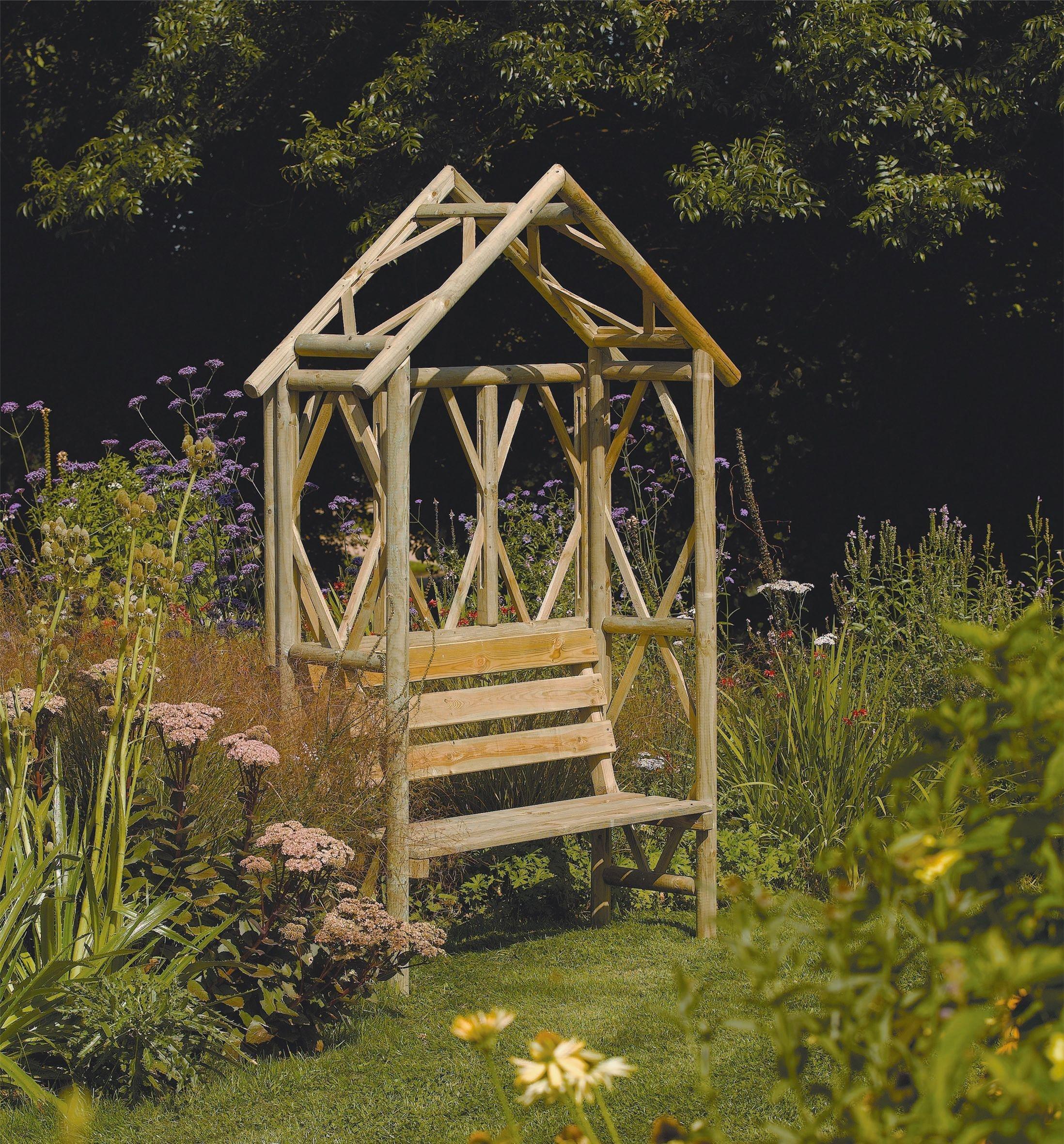Rowlinson Garden Rustic Bench. lowest price