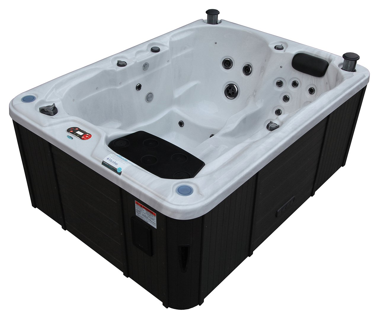 Image of Canadian Spa Co. Quebec Plug & Play 29 Jet 3 Person Hot Tub.