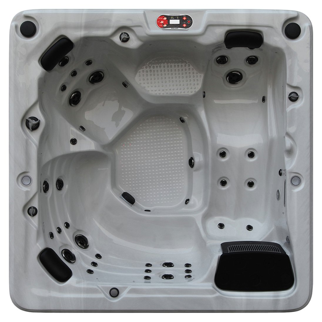 Canadian Spa Company Toronto 44 Jet 6 Person Hot Tub. lowest price