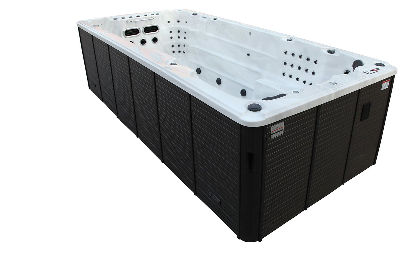 Canadian Spa Co. St Lawrence Deluxe 16ft 71 Jet Swim Hot Tub at Argos