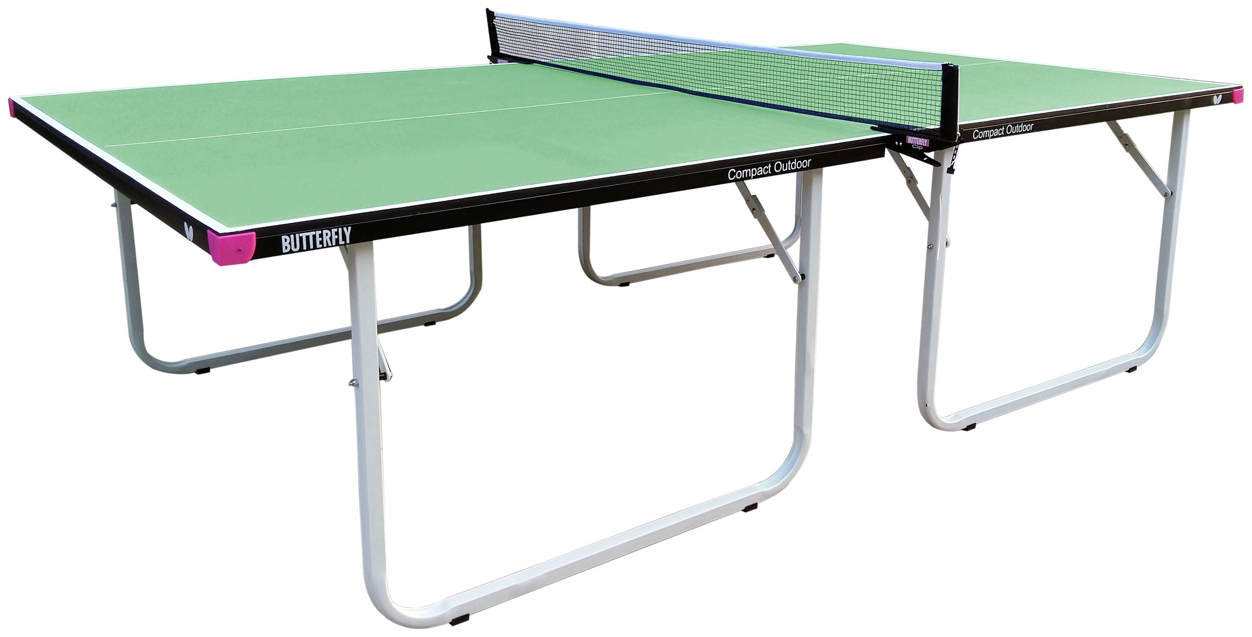 Image of Butterfly Compact Outdoor Green Table Tennis Table