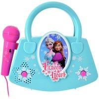 Disney Frozen Sing-A-Long Karaoke Machine.