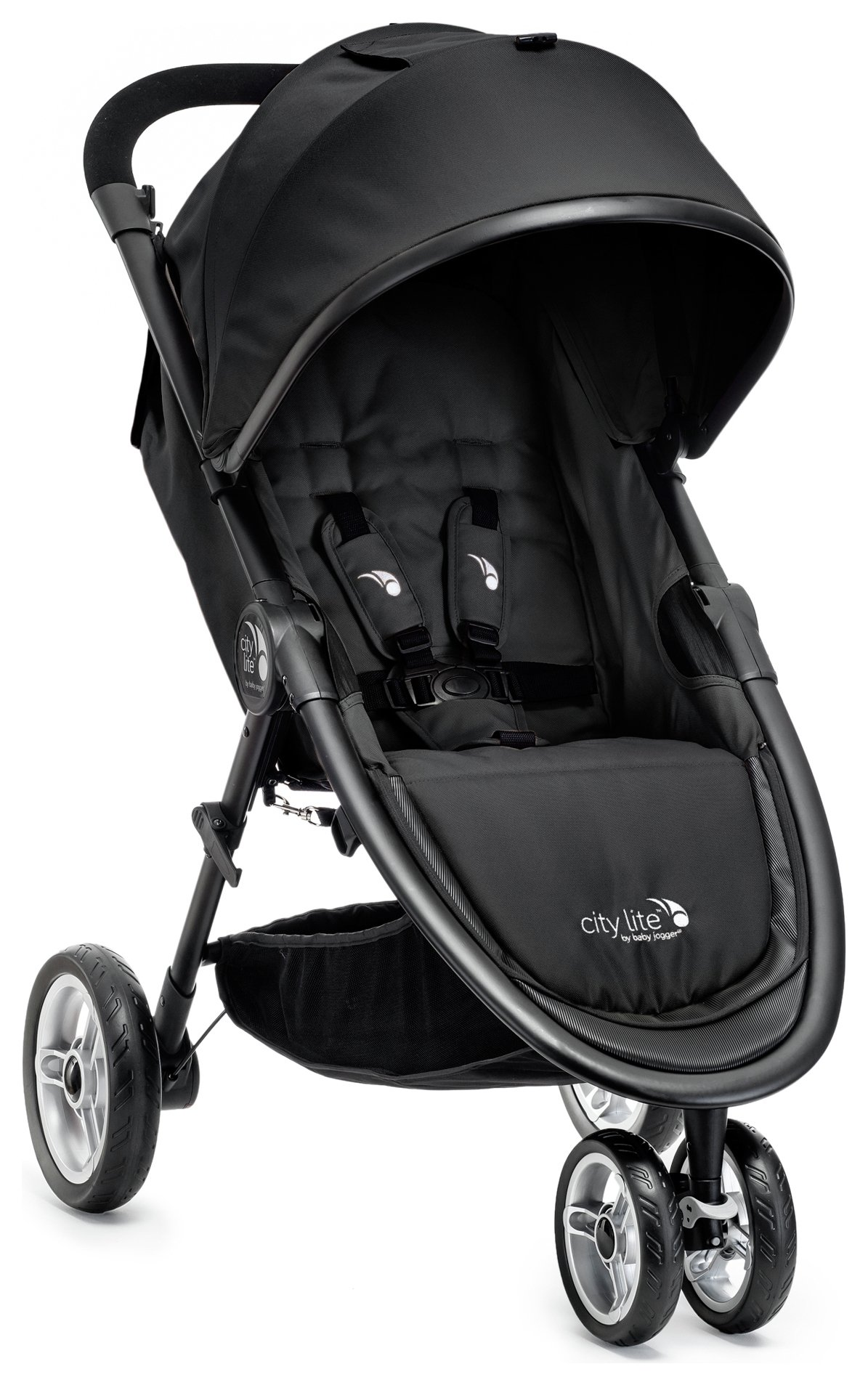 Image of Baby Jogger City Lite Single Stroller - Black.