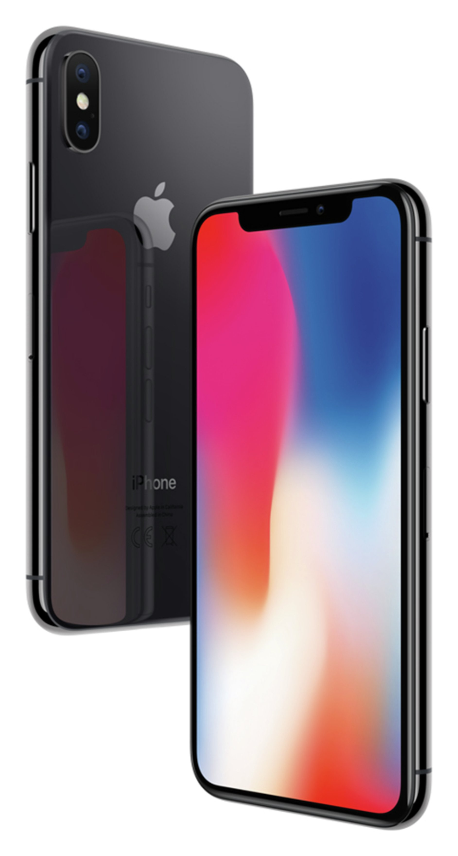 Apple Sim Free iPhone X 256GB Mobile Phone- Space Grey