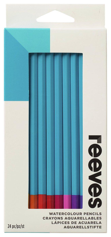 Reeves Watercolour Pencils Set - 24 Pieces
