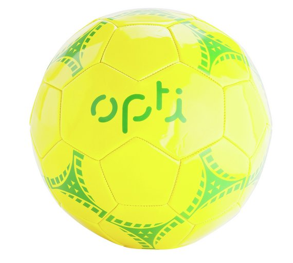 Opti Size 5 Football Red