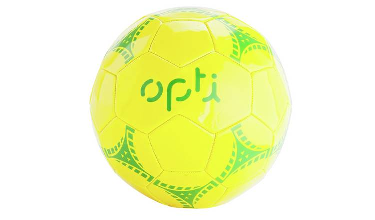 Opti Size 5 Football - Yellow