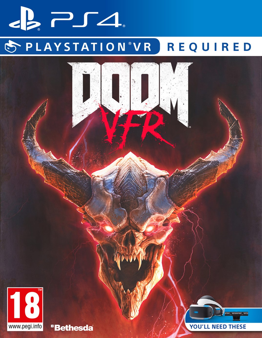 DOOM VFR PS VR Game (PS4)