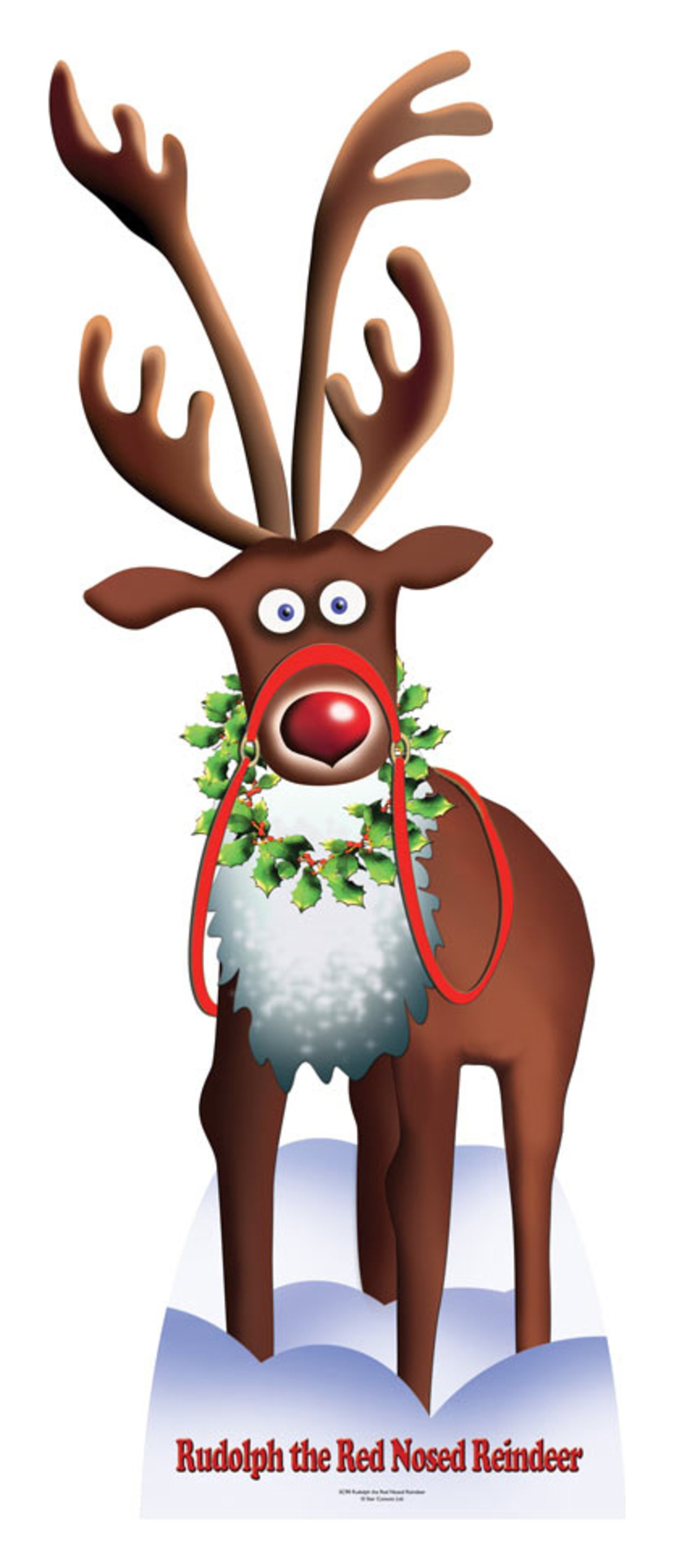 Image of Star Cutouts Rudolph the Red Nosed Reindeer