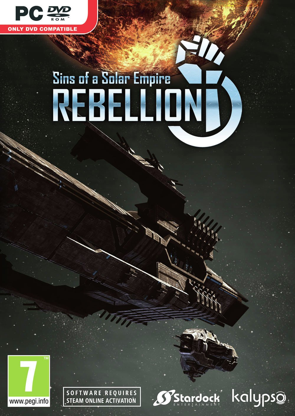Sins Of A Solar Empire Rebellion PC Game