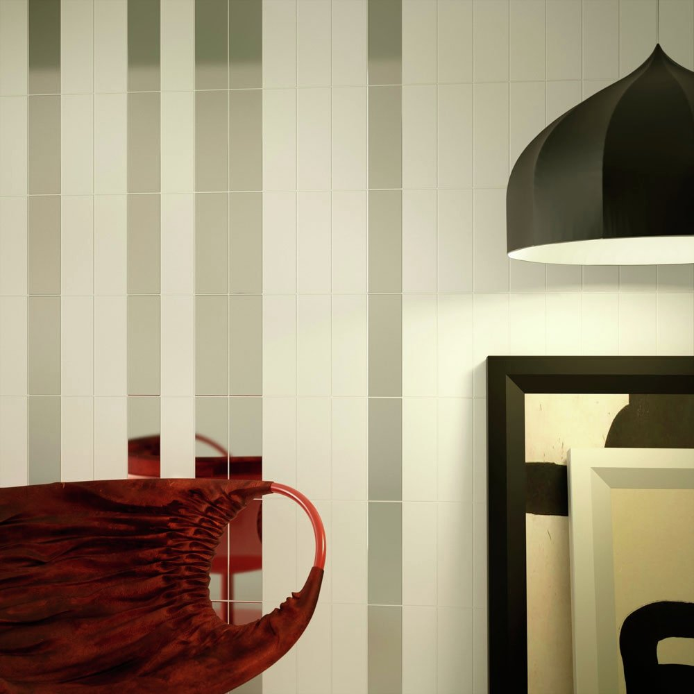 Image of Ceramic Wall Tile - Smooth Cream