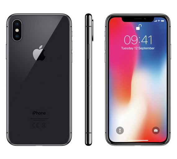 Buy SIM Free iPhone X 64GB Mobile Phone - Space Grey  8d28c48439b