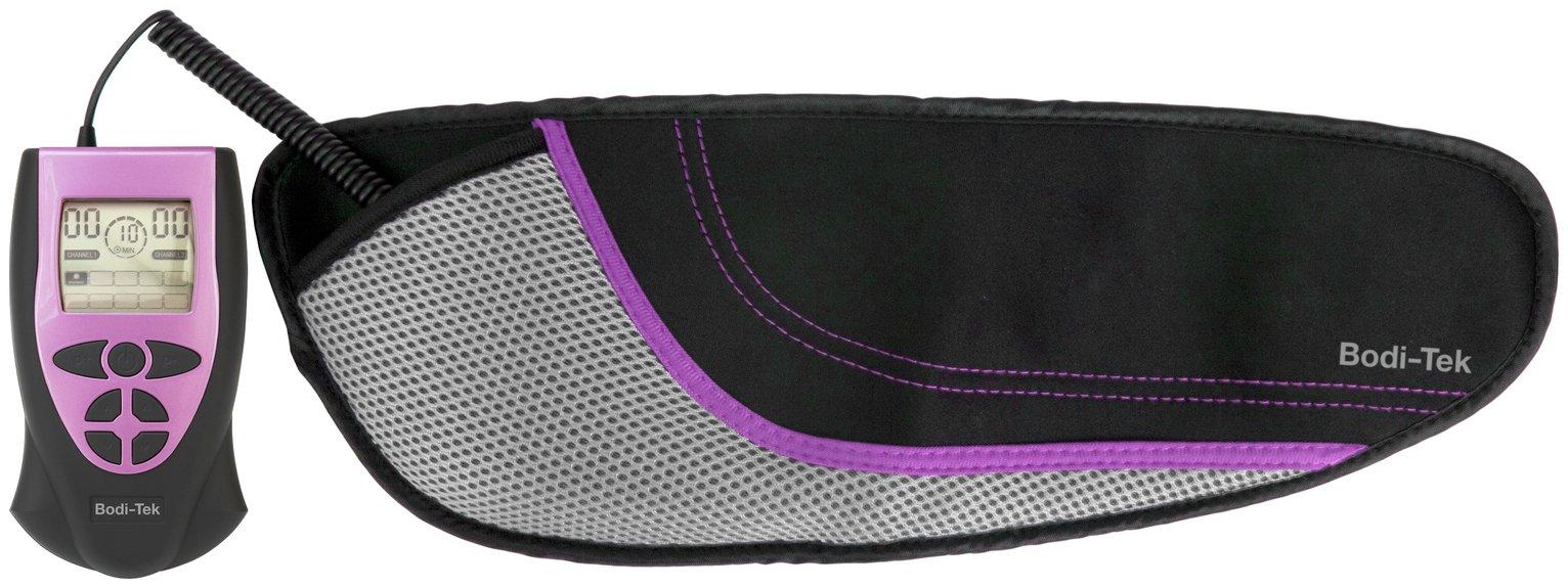 Image of Bodi-Tek Ab Toning, Exercising and Firming Belt - Purple