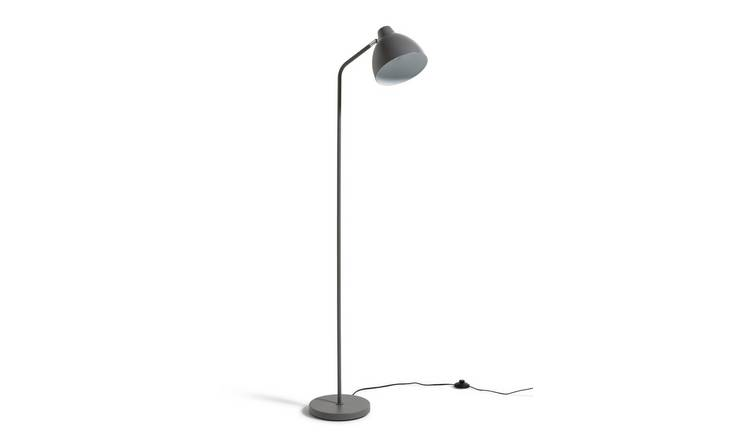 Argos Home Morlie Floor Lamp - Matt Grey