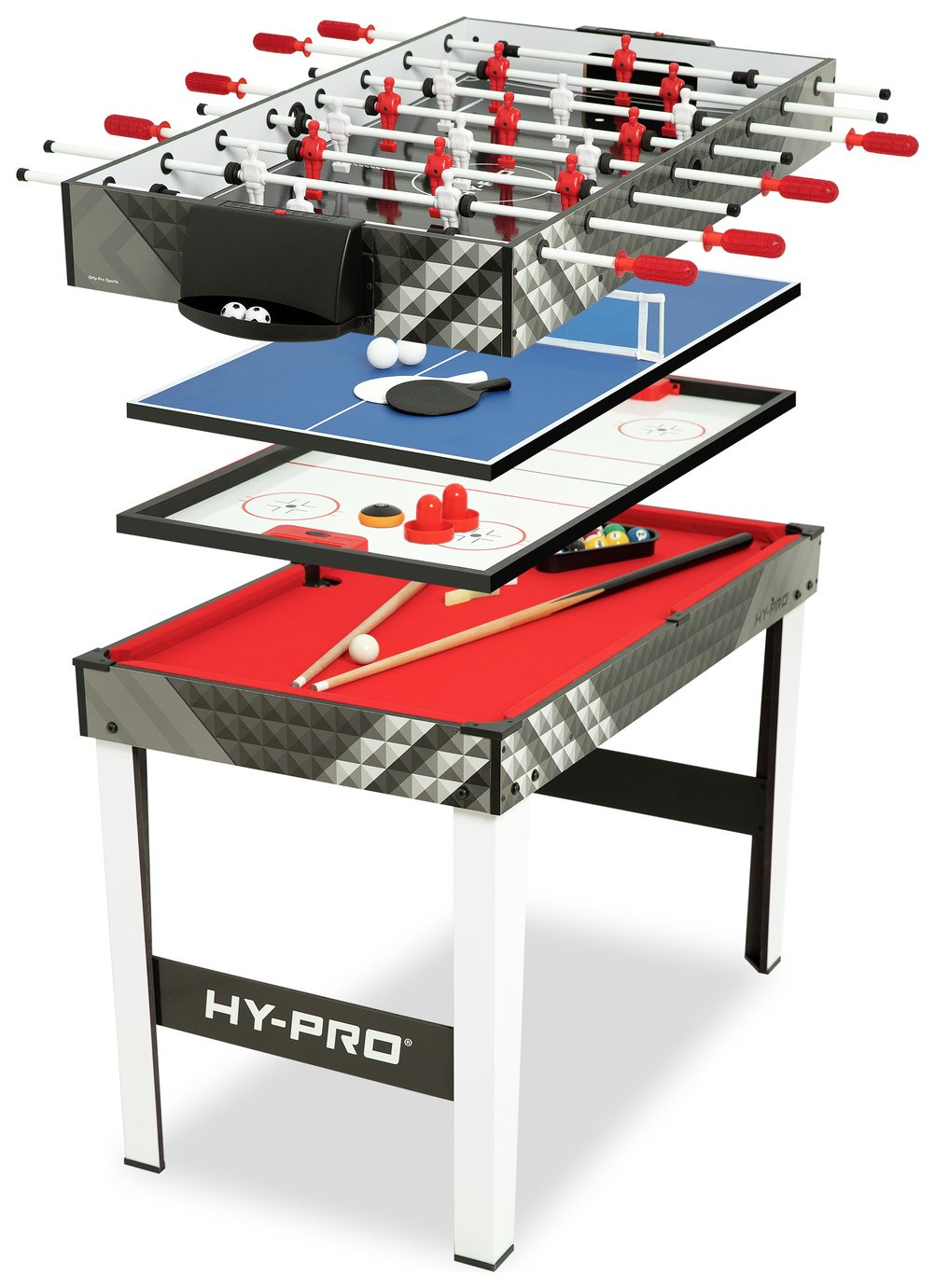 Hypro 4 In 1 Games Table 163 89 99 Gay Times