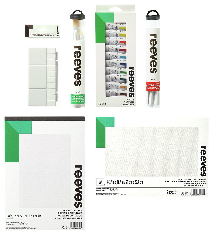 Reeves Acrylic Super Bundle Pack