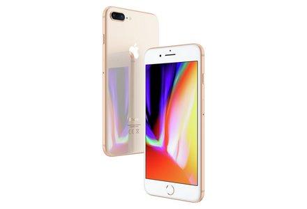 Sim Free iPhone 8 Plus 64GB Mobile Phone - Gold.