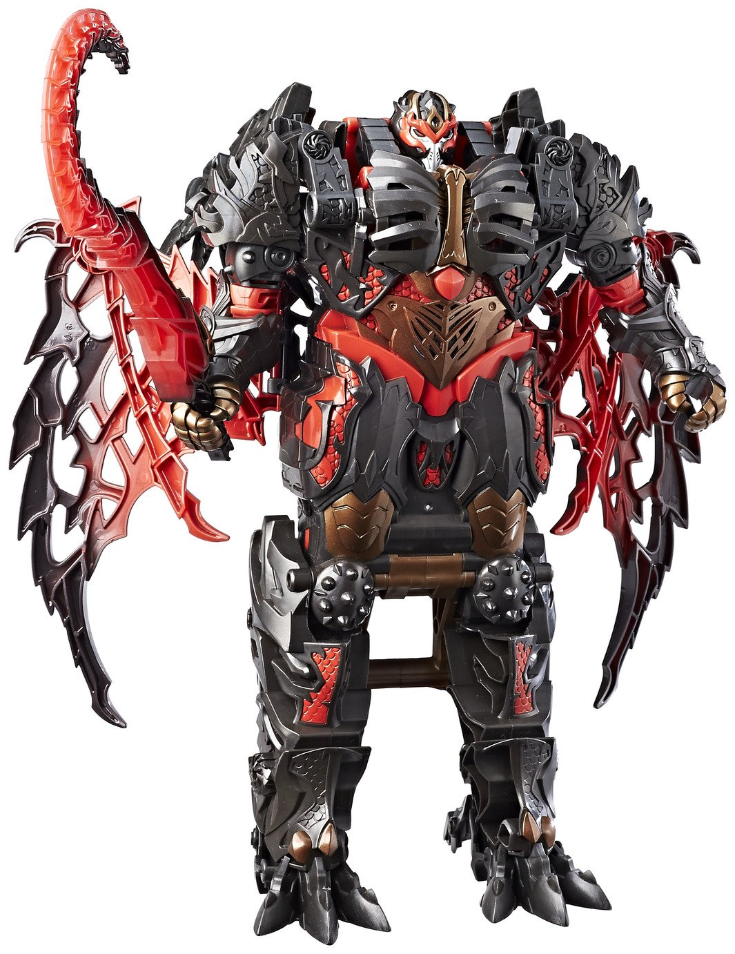 Image of Transformers: The Last Knight Mega 1Step Changer Dragonstorm