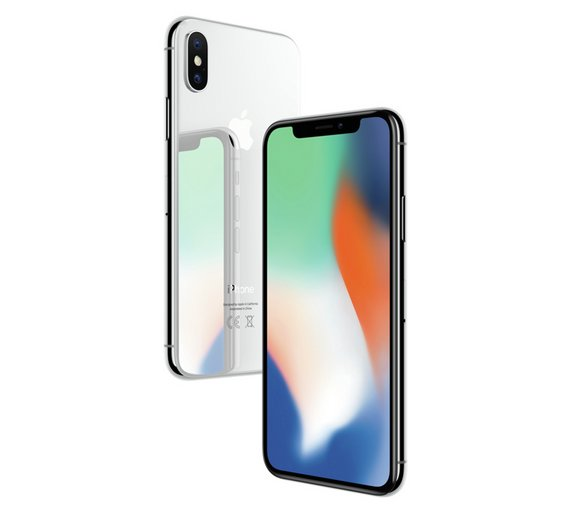 SIM Free iPhone X 256GB Mobile Phone - Silver. by Apple. 754 6141 2c9bf6d6c68