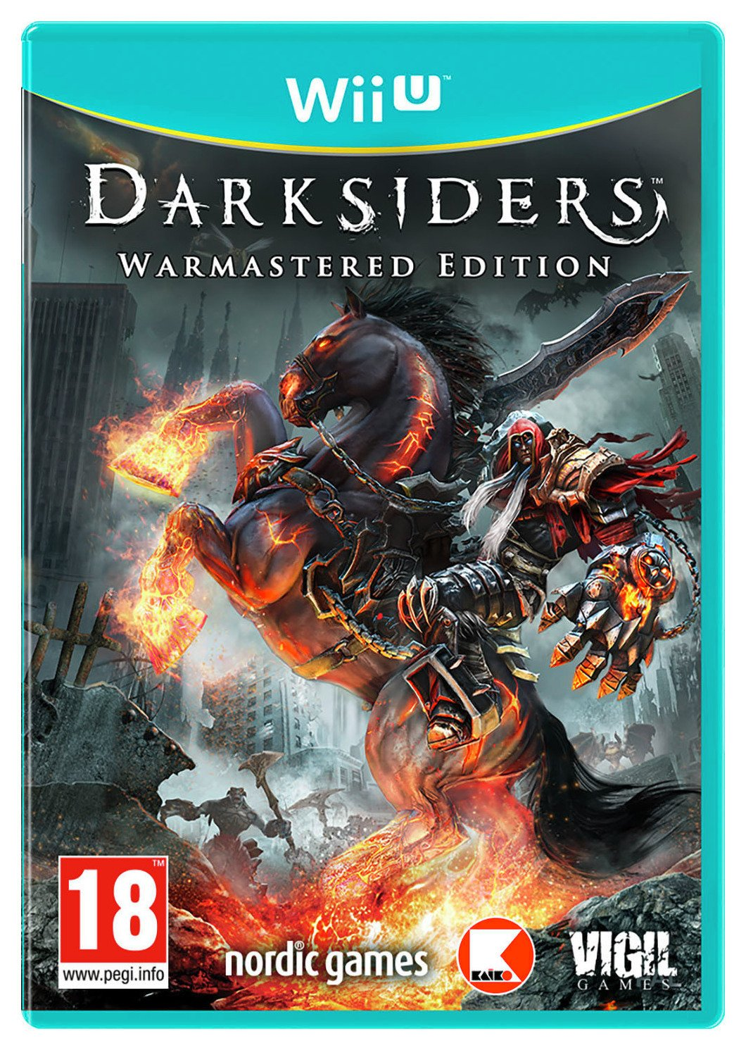 Image of Darksiders Warmastered Edition WiI U Game