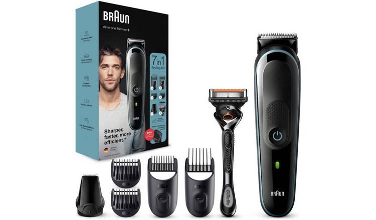 Braun 7in1 Beard Trimmer and Hair Clipper Kit MGK 3045/3245