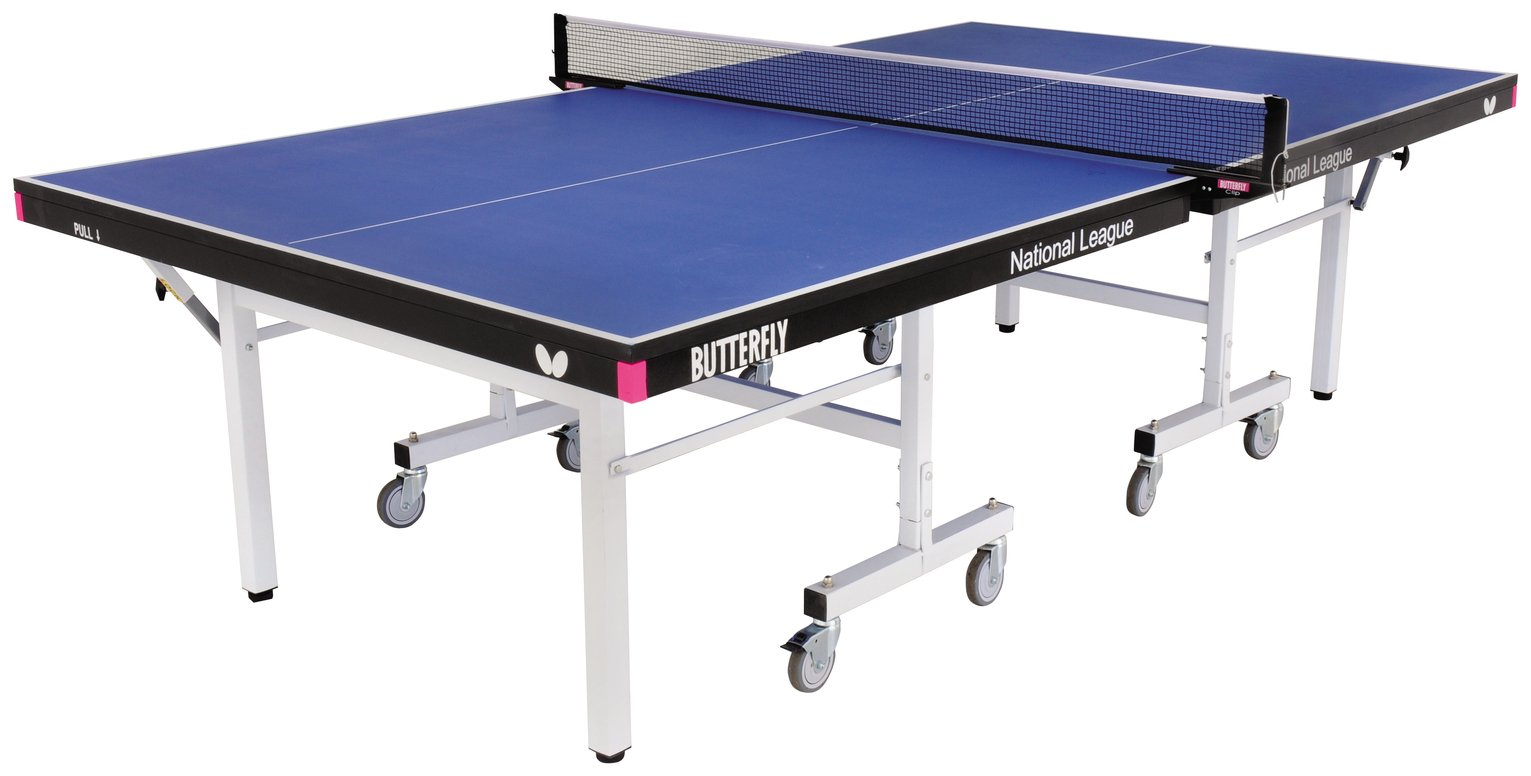 Image of Butterfly National League 22 Blue Table Tennis Table