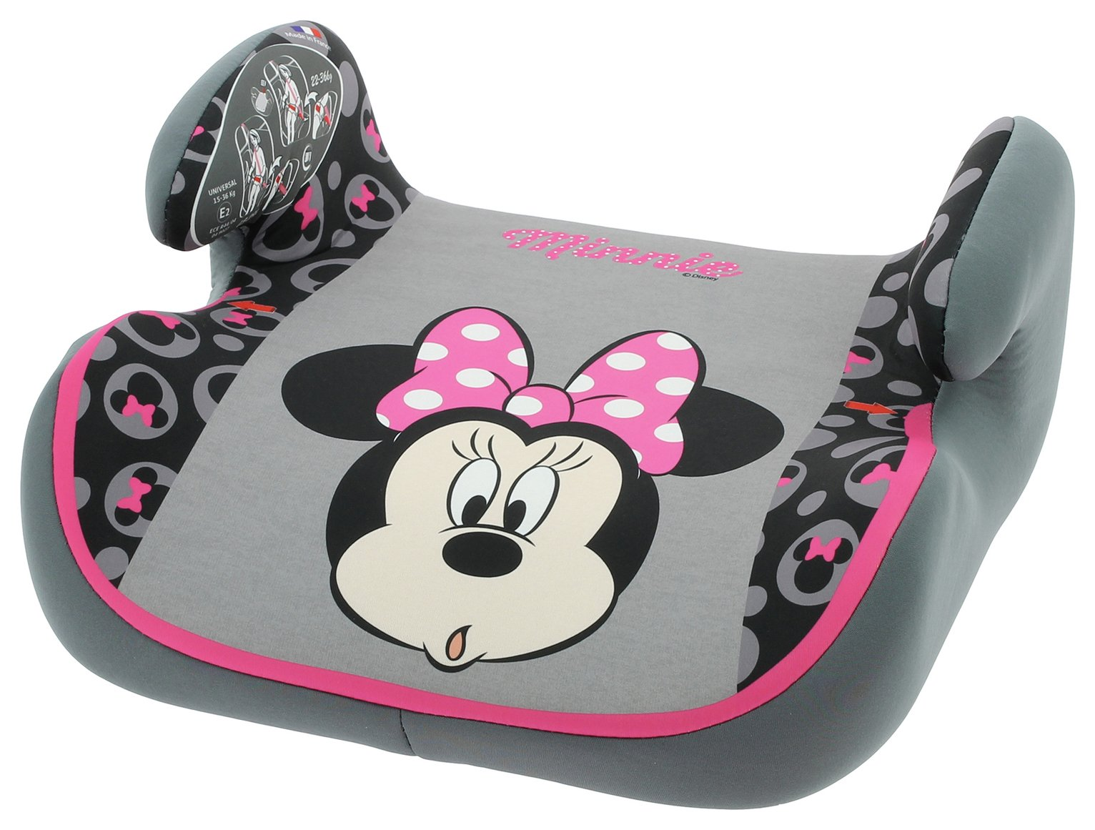 Image of Disney Minnie Mouse Topo Booster Seat
