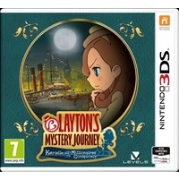 Layton's Mystery Journey Nintendo 3DS Game