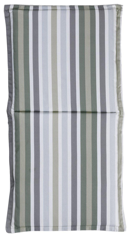 Argos Home Garden Chair Green Stripe Cushion
