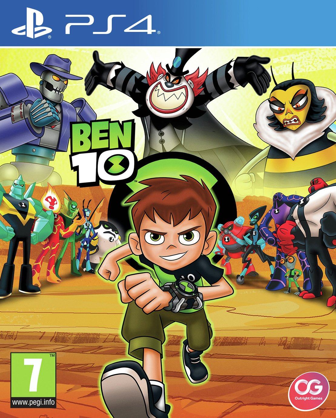 Image of Ben 10 PS4 Game