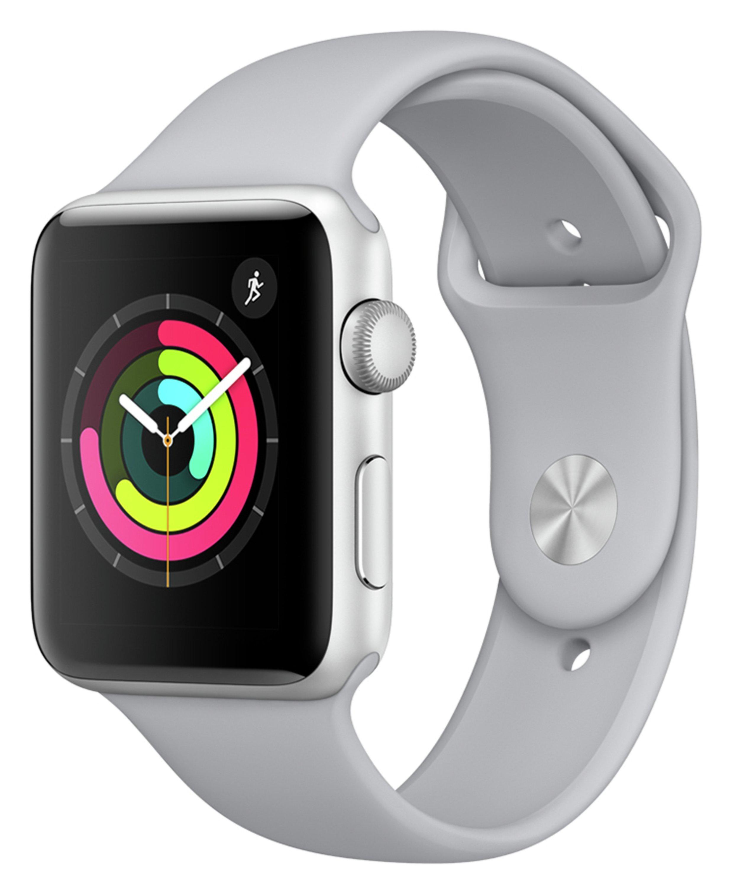 Apple Watch S3 GPS 42mm - Silver Alu / Fog Band