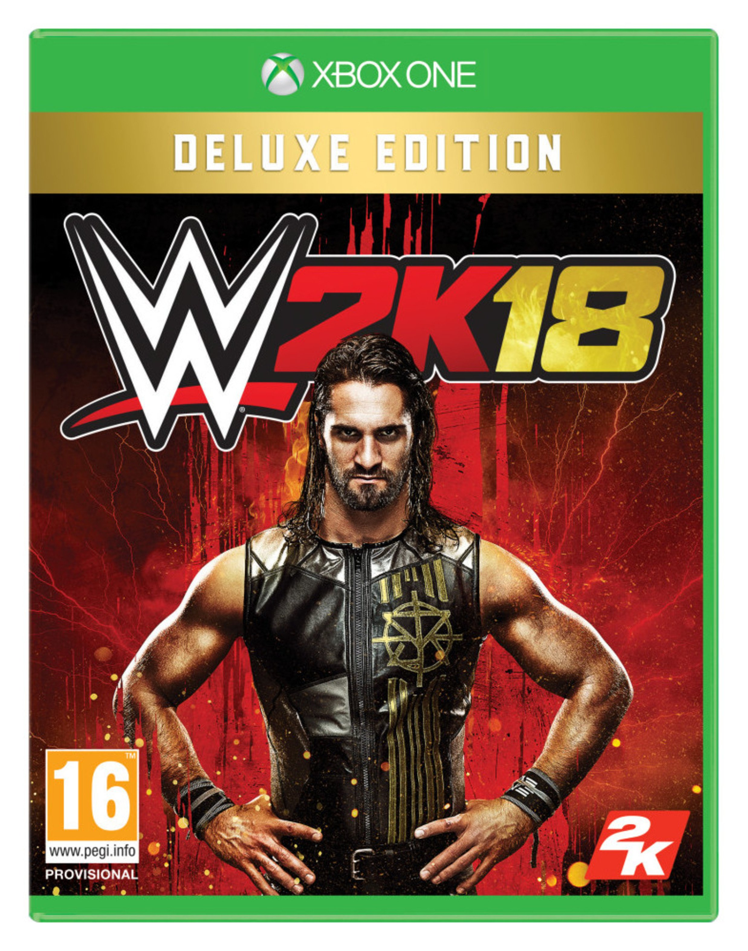 WWE 2K18 Deluxe Edition Xbox One Game