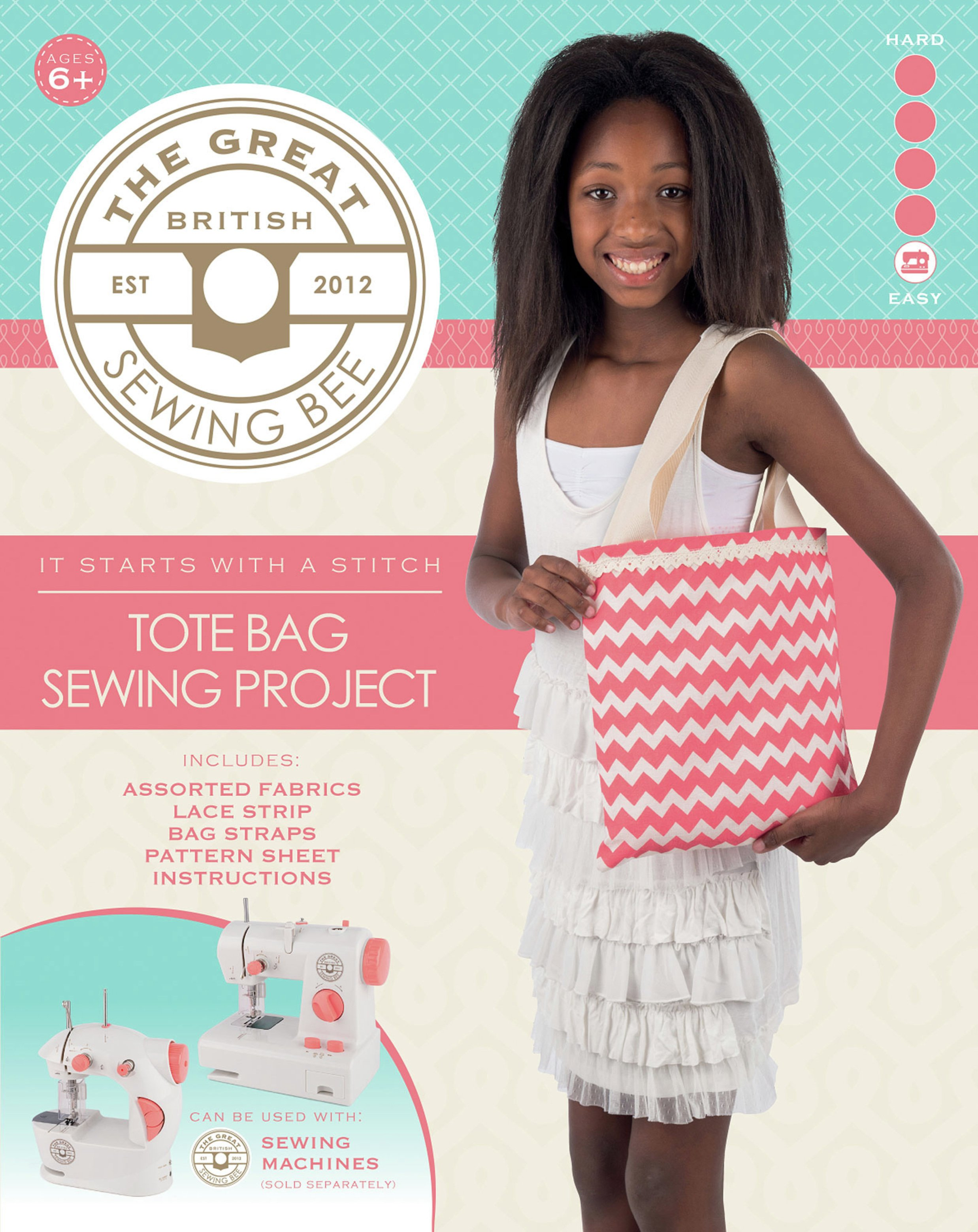 Image of Great British Sewing Bee Tote Bag Kit