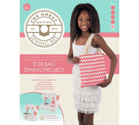 Buy Great British Sewing Bee Tote Bag Kit Toy Craft Kits Argos