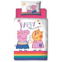Peppa Pig Hooray Bedding Set - Toddler