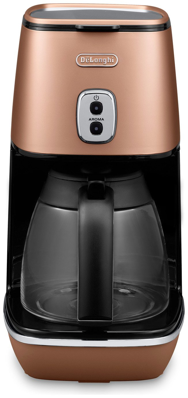 Image of De'Longhi Distinta Filter Coffee Machine - Copper
