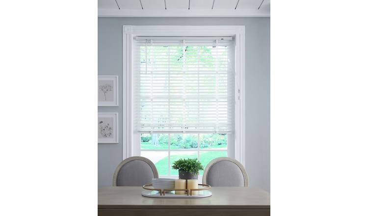 Little Black Book 50mm Venetian Blind - W110xL160cm - White