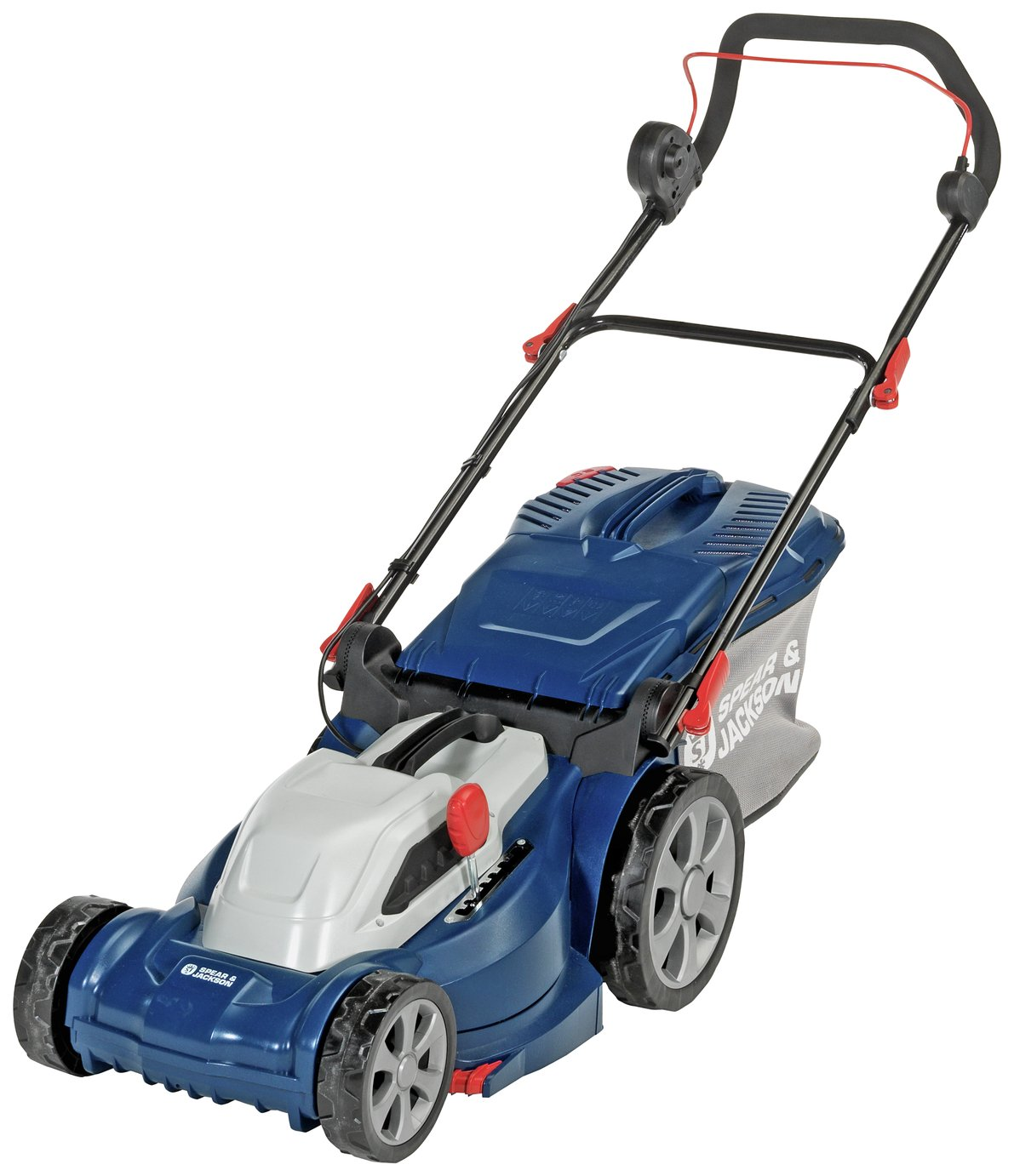 sale on spear jackson 37cm corded rotary lawnmower. Black Bedroom Furniture Sets. Home Design Ideas