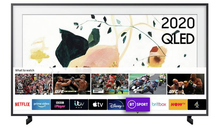 Samsung 32 Inch QE32LS03TBKXXU The Frame Smart QLED TV