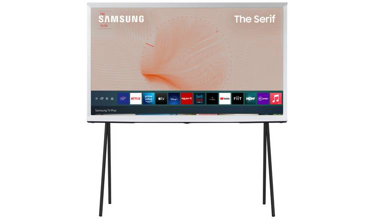 Samsung 49 Inch QE49LS01TAUXXU The Serif Smart 4K QLED TV