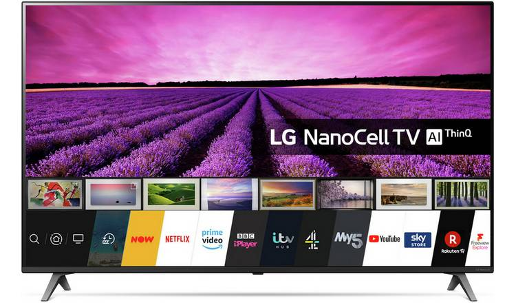 LG 65 Inch 65SM8050 Smart 4K Ultra HD LED TV with HDR