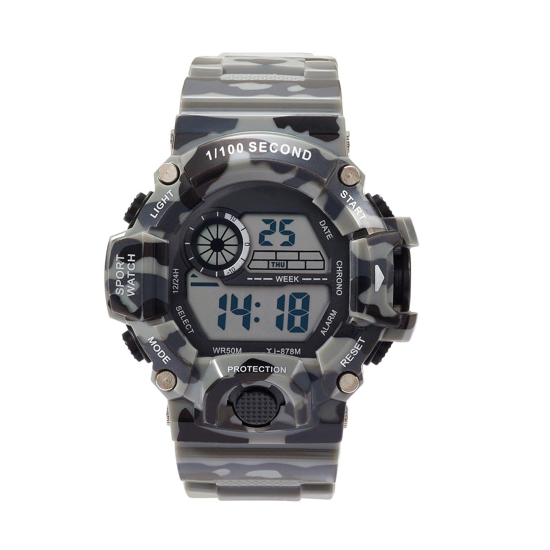 Image of Little Tix Children's Camouflage Plastic Strap Watch