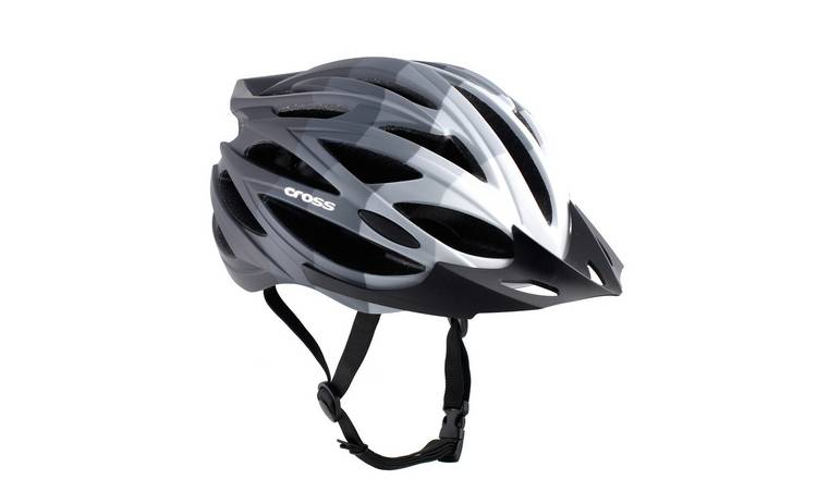 Cross Adults Bike Helmet - Black Gradient