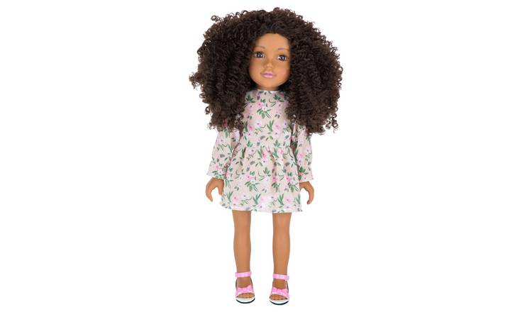 Designafriend Floral Dress Dolls Outfit
